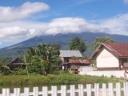 Gunung Dempo Tertutup Awan